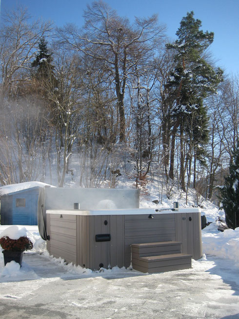 Parfait jacuzzi spas de Caldera Spas aussi on hiver
