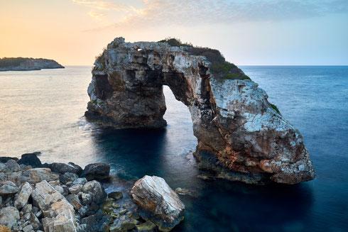 Mallorca Es Pontas beim Sonnenaufgang fotografiert