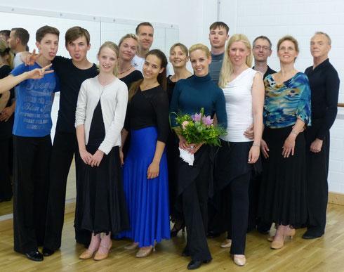Unsere Tänzer mit Isabel Edvardsson