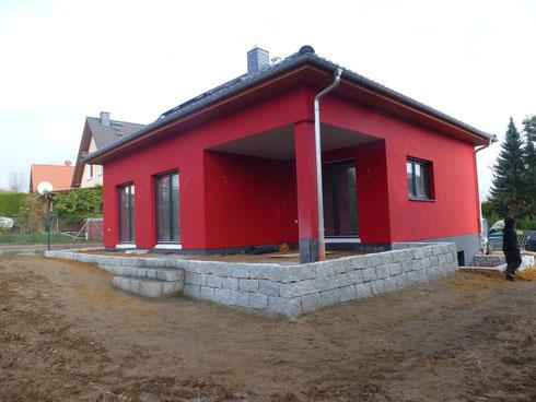 Stützmauern aus Granit