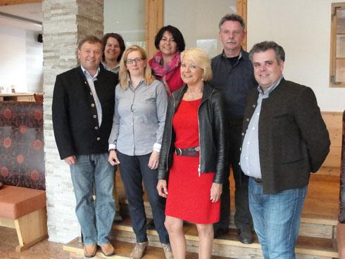 Der Vorstand von Pro Gast Tourismus e.V. Oberammergau
