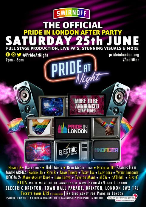 Pride At Night
