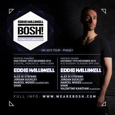 Eddie Halliwell | Bosh!