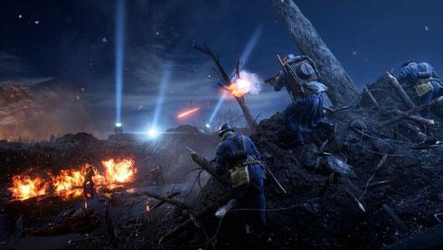 Battlefield 2 findet im Setting des Zweiten Weltkriegs statt. Bild: Electronic Arts