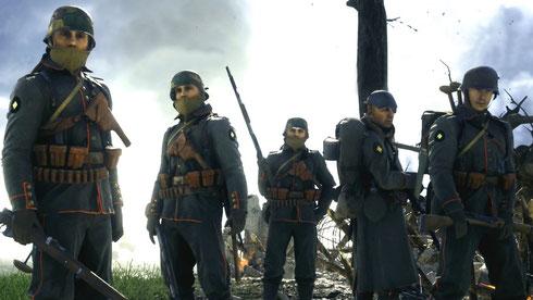 Die Soldatenklassen und Fraktionen in Battlefield 5 fallen wie gewohnt umfangreich aus. Bilderquelle: Electronic Arts