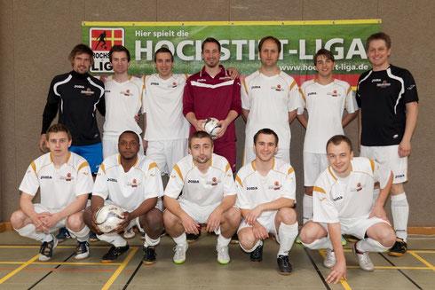 Futsalicious Essen e.V. Team beim 1. Hochstift Futsal-Cup in Paderborn am 28.05.2011