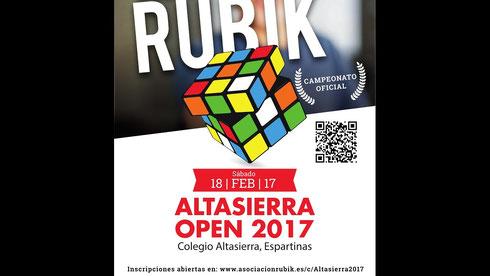 Altasierra Open 2017