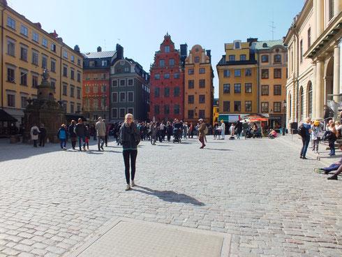 Magdalena in Gamla Stan in Stockholm