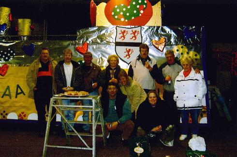 Wagenbau Crew 2004