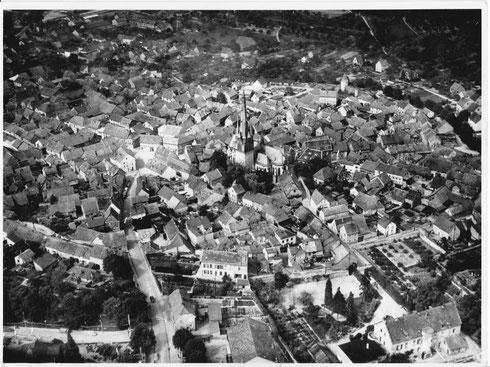 Luftbild 1955