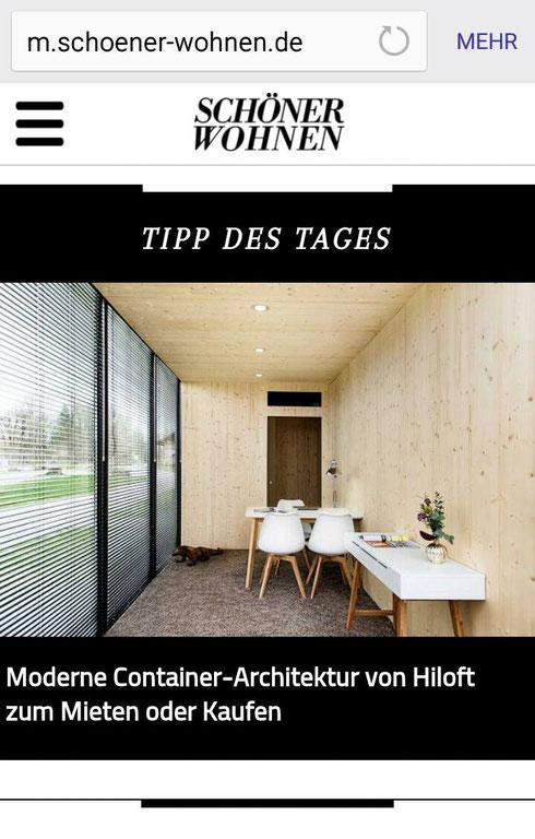 moderne Container Architektur