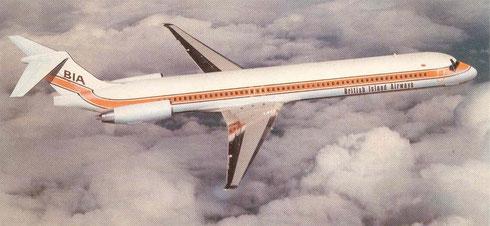 Die MD-83 setzte neue Standards im britischen Ferienflugverkehr/Courtesy: McDonnell Douglas