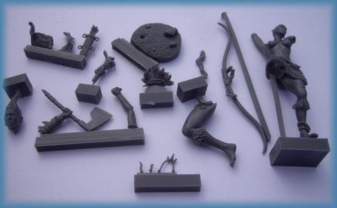 Aradia Miniatures - Yarish - Ogres Miniatures