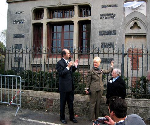 2004_Plaque Honfleur_©Association des Amis d'André Hambourg
