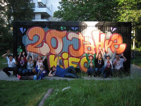 Ein tolles Geburtstagsfest - Dank der vielen Jugendleiter im Einsatz (Foto: A.P.)