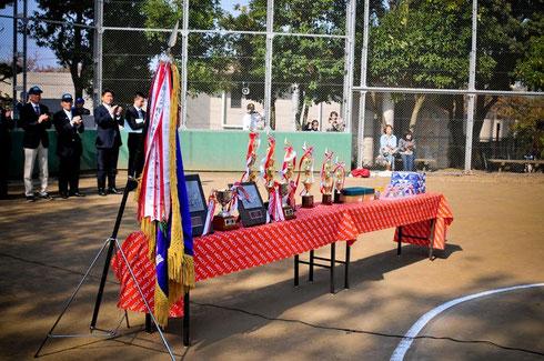 優勝カップ麻生区少年野球
