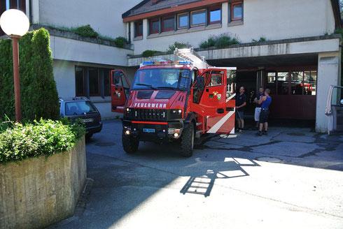 Bremach T-Rex TRex Tekne Allrad Christ Feuerwehr Blankenberg Hennef Wald Rehetobel