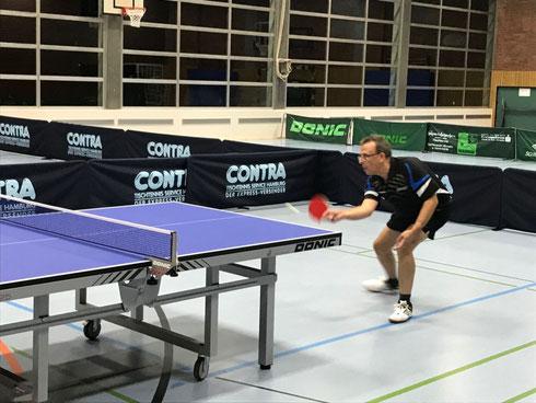 Mannschaftskapitän Jürgen Dörr führt die 3. Mannschaft erneut zum Sieg