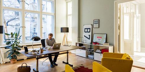 Home-Office wird heute schon vielfach praktiziert.     (Foto: usm.com)