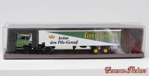 "Brekina Automodelle  Königsbacher LKW  ""krönt den Pils Genuss"""