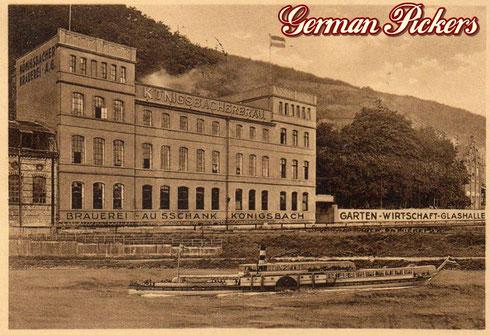 Königsbacher Bräu / Brauerei Ansichtskarte  Ansicht der Königsbacher Brauerei A.-G. Koblenz  Koblenz um 1920