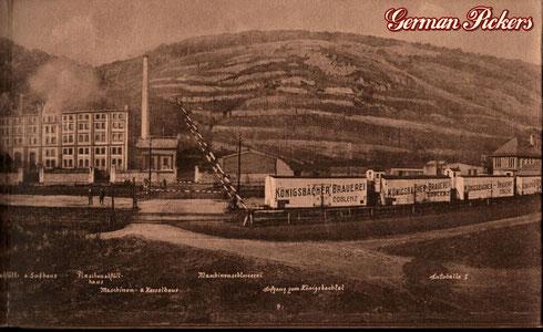 Königsbacher Bräu / Brauerei Ansichtskarte  Ansicht der Königsbacher Brauerei A.-G. Koblenz  Koblenz um 1900