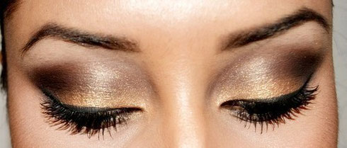 Augen Make Up http://www.bodyandsoulcosmetics.de