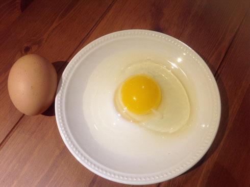 レモン色こだわり自然卵 6個入り