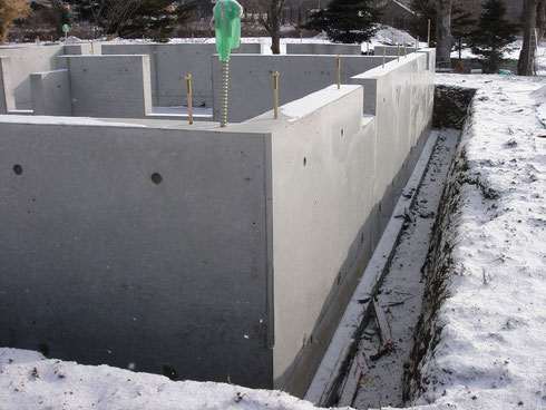 2012年1月下旬の工事