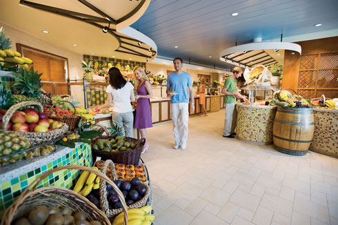 AIDAblu Markt Restaurant