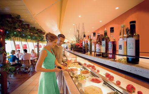 AIDAluna Weite Welt Restaurant