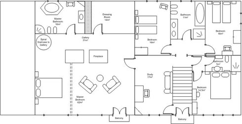 House Plans First Floor