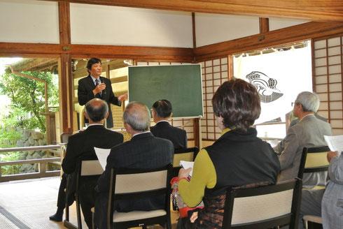 平成27年度徳光院護持会総会「記念講演」風景