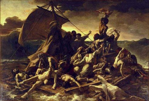 Le Radeau de la Méduse (Théodore Géricault 1818-19)