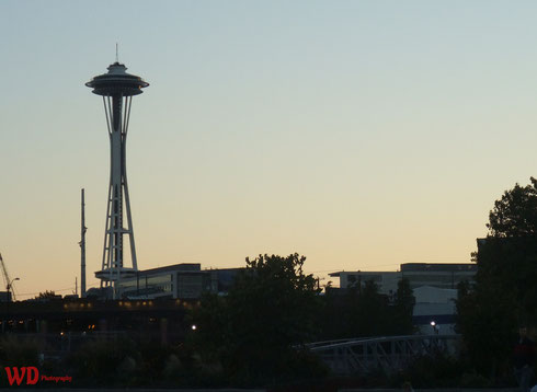 Space Needle - view from Lake Union