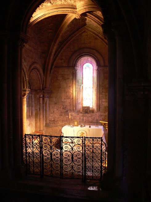 Chapel inside Dover Castle