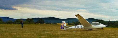 Der erste Alleinstart gehört zu den intensivsten Erfahrungen eines Segelflugschülers