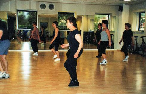 fitness in una palestra di Tolmezzo - 2001