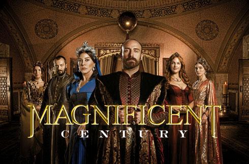"""Foto da série """"Anos Magníficos"""" sobre o sultão Suleimão - cortesia de Izzet Pinto, The Global Agency"""