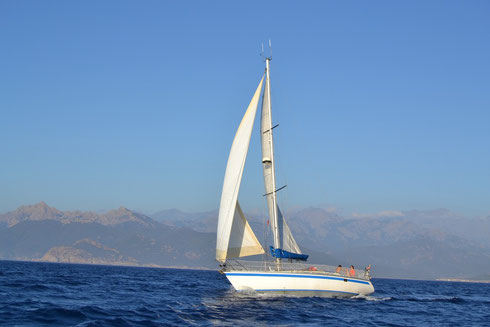 Croisière en voilier avec skipper en Corse