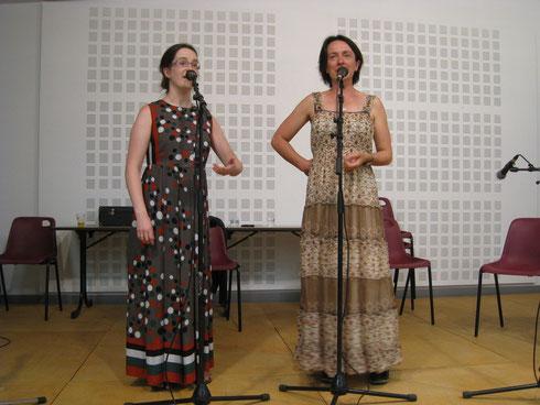 Karen Treguier et Karine Hamon