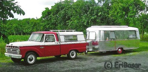 Ford Truck mit Eriba Troll 63