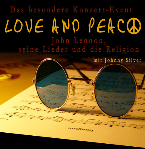 Johnny Silver -Peace and love - www.peacelennon.de
