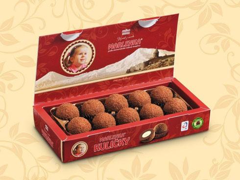 Bild: Marlenka Honigkugeln mit Kakao