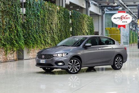 Fiat Tipo gewinnt Auto Best Award 2016