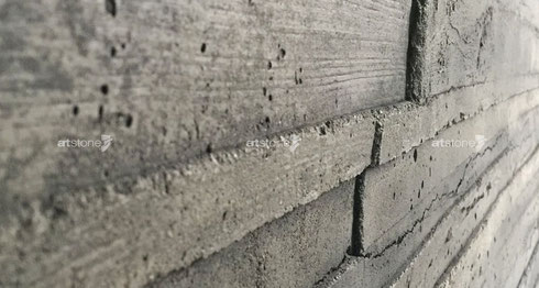 GFK 3D Betonpaneele für moderne Sichtbeton Wandverkleidungen