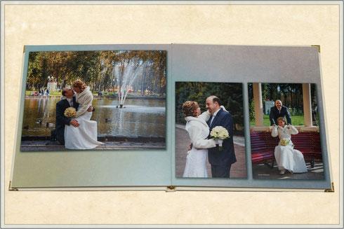 заказ свадебной фотокниги в Харькове по недорогой цене
