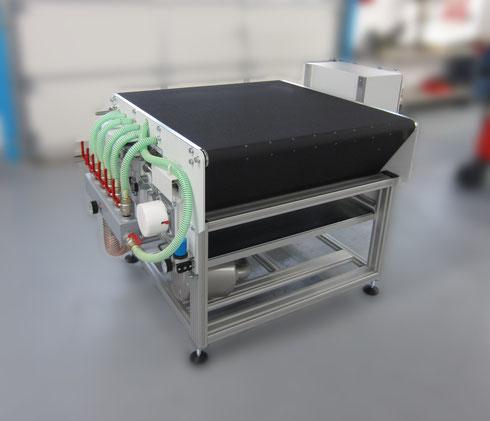 Förderband mit Vakuumunterstützung F+V Automation