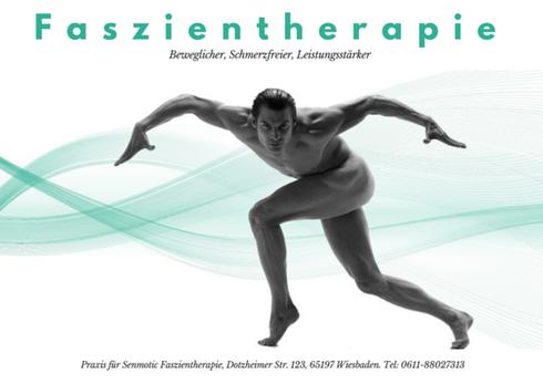 Gutschein für eine Sitzung Faszien Therapie in der Praxis Wiesbaden