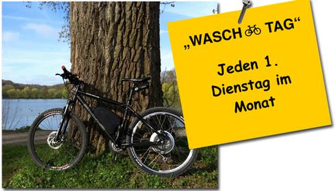 Fahrrad Waschtag